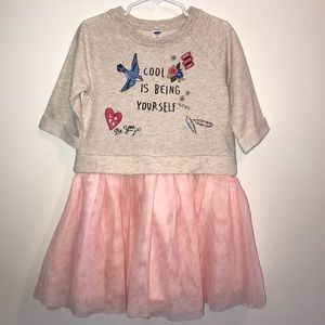 Old Navy Girl's 2-In-1 Fit & Flare Tutu Dress
